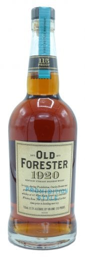 Old Forester Bourbon Whiskey 1920 Craft 750ml