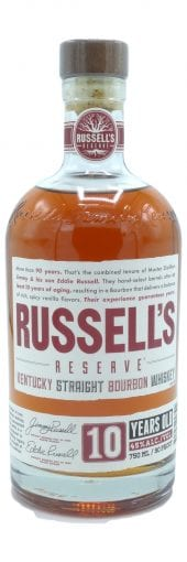 Russells Reserve Bourbon Whiskey 10 Year Old 750ml