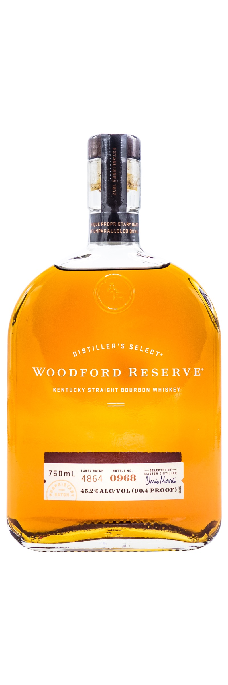 WOODFORD RESERVE <br>BOURBON WHISKEY