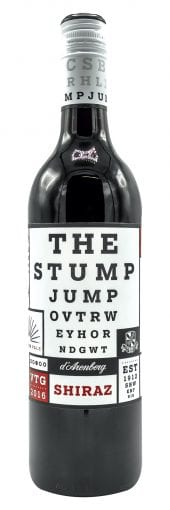 2017 d'Arenberg Shiraz Stump Jump 750ml