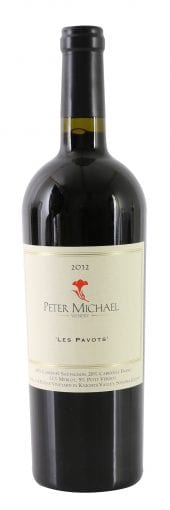 2012 Peter Michael Red Les Pavots 750ml