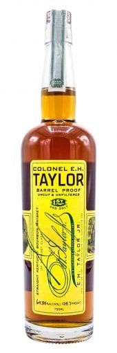 2017 E.H. Taylor Bourbon Whiskey Barrel Proof, 128.1 Proof 750ml