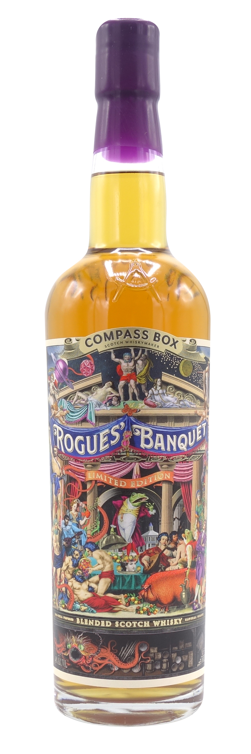 COMPASS BOX BLENDED SCOTCH WHISKY <br>ROGUES' BANQUET