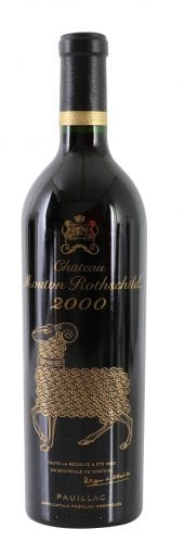 2000 Chateau Mouton Rothschild 750ml