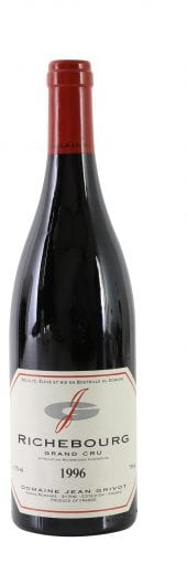 1996 J. Grivot Richebourg Grand Cru 750ml