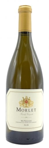 2016 Morlet Family Vineyards Chardonnay Ma Princesse 750ml