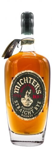 Michters Rye Whiskey 10 Year Old 750ml