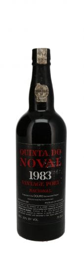 1983 Quinta do Noval Vintage Port Nacional 750ml