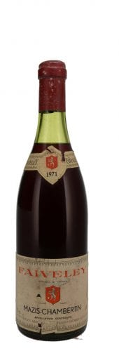 1971 Faiveley Mazis Chambertin 750ml