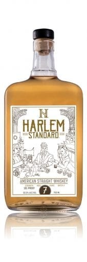 Harlem Standard American Straight Whiskey 7 Year Old 750ml