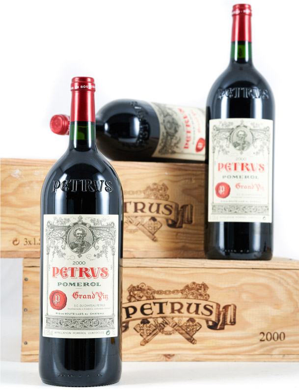 Lot 872: 6 magnums 2000 Chateau Petrus in OWC