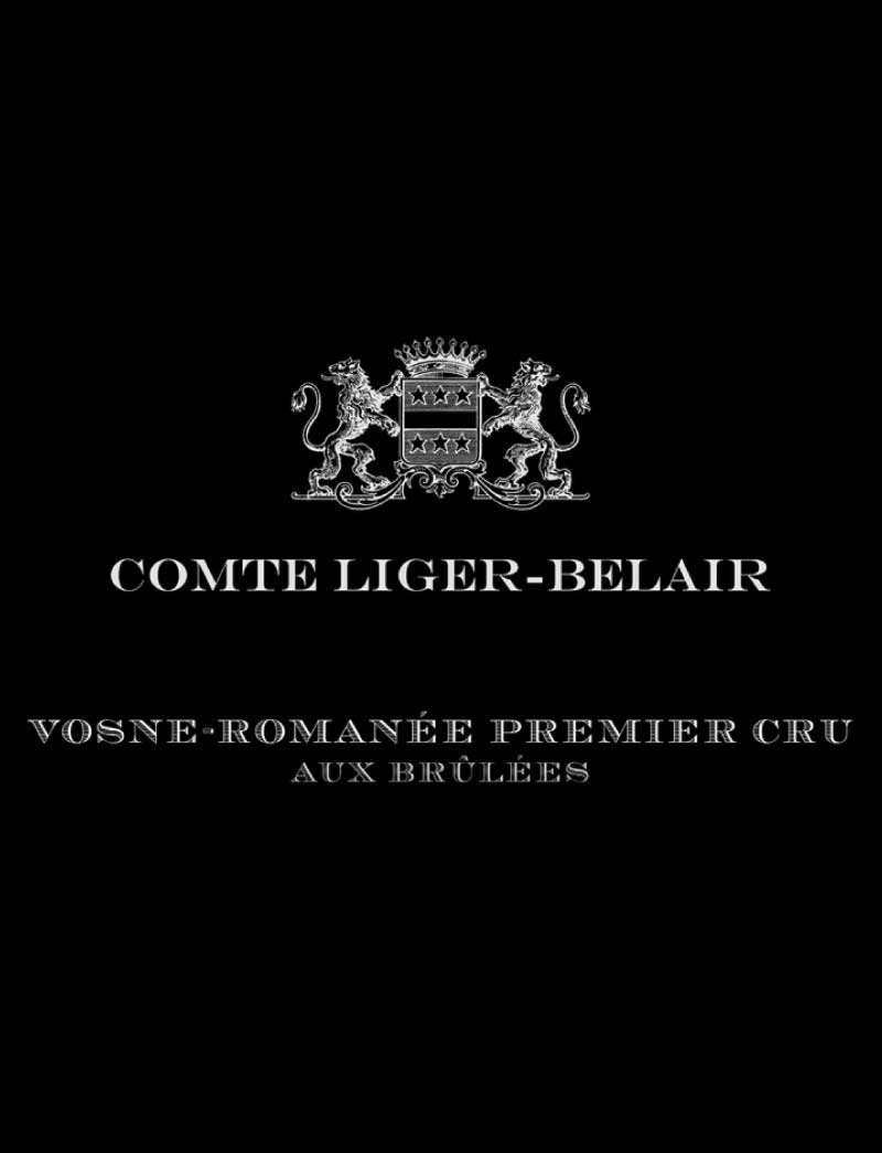 Lot 322: 1 magnum and 1 NFT 2019 Comte Liger-Belair Vosne Romanee Aux Brulees in OWC