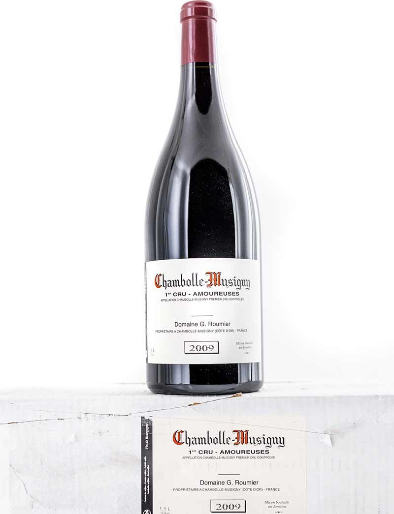 Lot 235: 3 magnums 2009 G. Roumier Chambolle Musigny Les Amoureuses in OCB