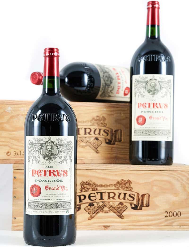 Lot 872: 6 magnums 2000 Chateau Petrus in OWCs